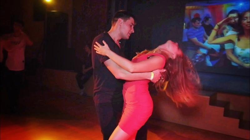 Zoukendary. Aleksey Ryabev and Anastasia Lyakh. Zouk improvisation. (Attached)