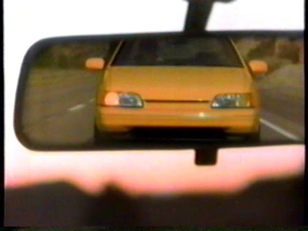 1991 Hyundai Scoupe TV Commericial