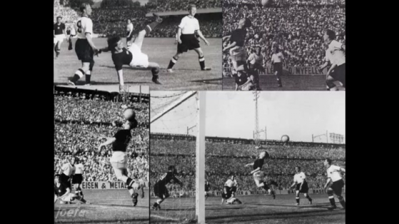 Hungary - West Germany. WC-1954 (8-3)
