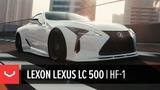 Lexus LC 500 Lexon Japan Vossen Hybrid Forged HF-1 Wheels