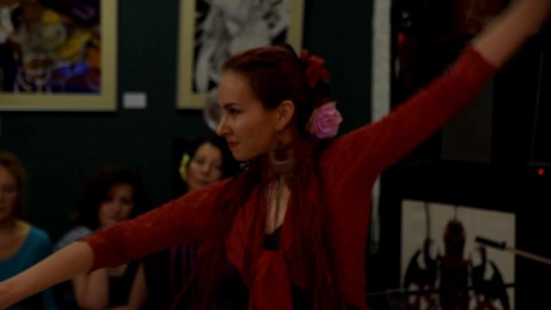 Артисты LLAMADA band на вечеринке фламенко в Петербурге