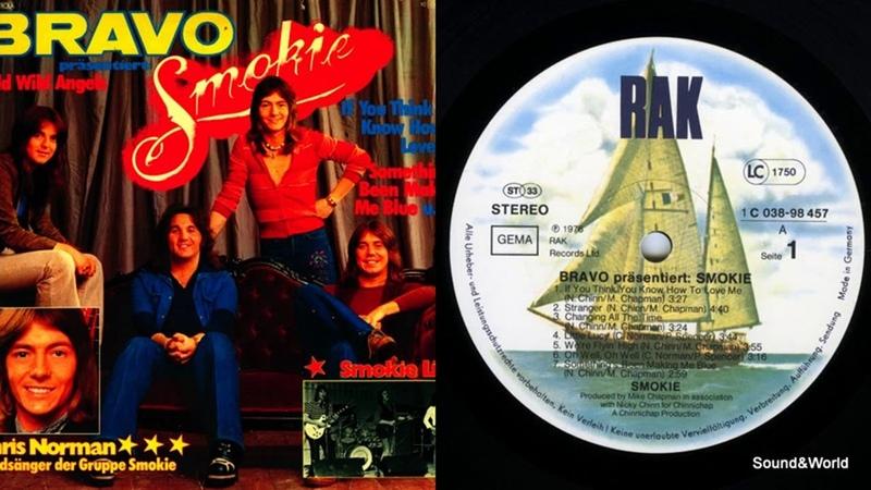 Smokie – BRAVO Präsentiert Smokie (Vinyl, LP, Compilation) 1976.