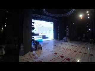 Установка светодиодного экрана в г.Грозный