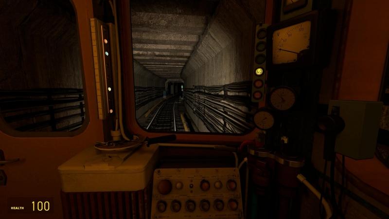 Garry's mod Metrostroi: Парк на Ема
