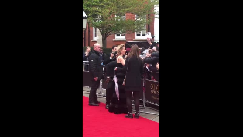 Perry O Bree on Twitter For all of you lovely GillianA fans OlivierAwards OlivierAwards AllAboutEvePlay AllAboutEve Gil