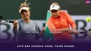 Elina Svitolina vs Daria Gavrilova 2019 BNP Paribas Open Third Round WTA Highlights
