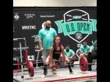 Самира Абвех - тяга 182,5 кг (51,7 кг)