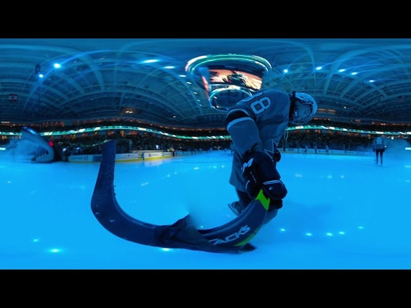 360 Video: Jagger Burns through the Shark Head