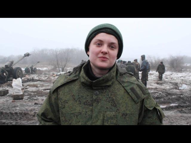 """Интервью с командиром гаубичной батареи """"Гайкой"""""""