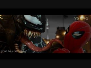 VENOM vs Spider-man - EPIC Fight Scene (2018)