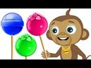 NOVO Macacos Comendo Pirulitos e Mais Músicas Divertidas Para Crianças Hooplakidz Brasil