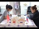 You Zhang CHN Natalia Shestakova RUS Women's World Draughts Championship 2019
