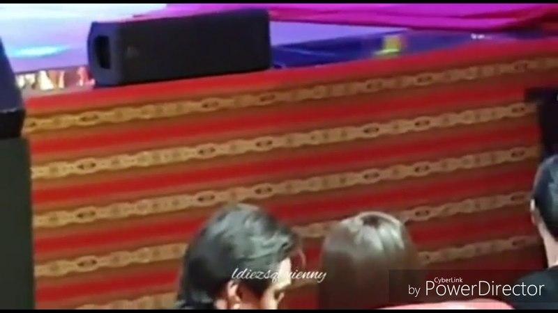 Spotted Enrique Gil hinalikan si Liza sa Guillermo Awards Night