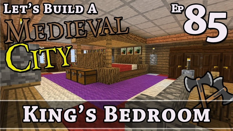 How To Build A Medieval City E85 Kings Bedroom Minecraft Z One N Only