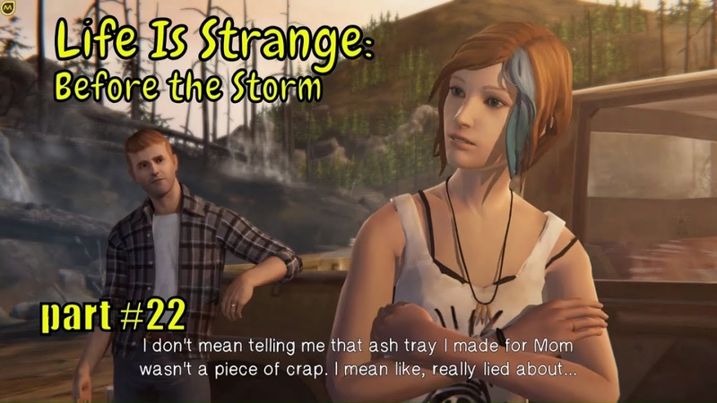 👩❤️💋👩 Life is Strange 👩❤️💋👩 : Chloe talks to Rachel's real mom SERA - part 22