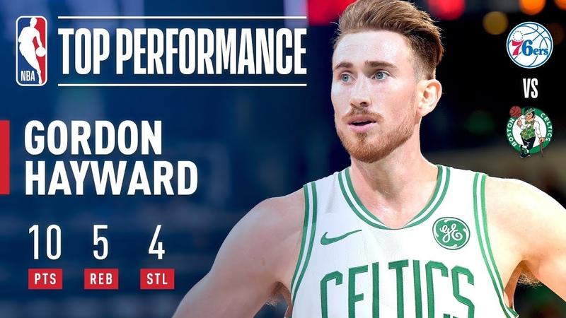 Gordon Hayward Returns To The Celtics Lineup | 2018-2019 NBA Opening Night
