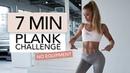 7 MIN PLANK CHALLENGE No Equipment Pamela Rf
