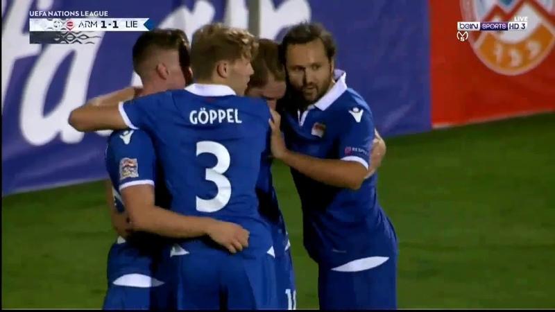 Armenia 2 : 1 Liechtenstein (Nations League) 06/09/2018