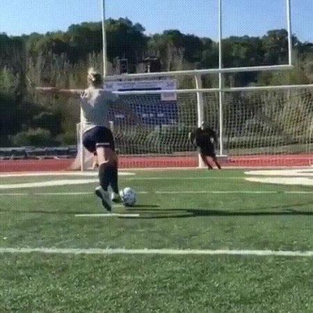 Fraudulent penalty kick