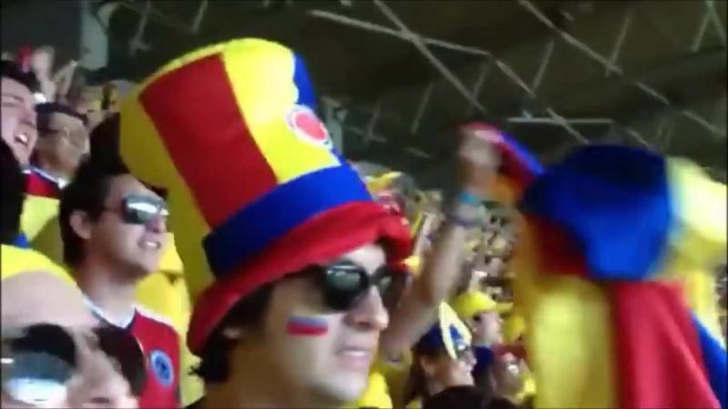 Colombia Canta su Himno y hace temblar el Estadio