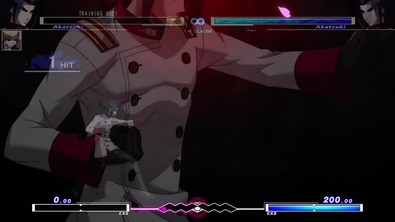 Under Night In-Birth ExeLate[st] Akatsuki Infinite Worth (EXS)