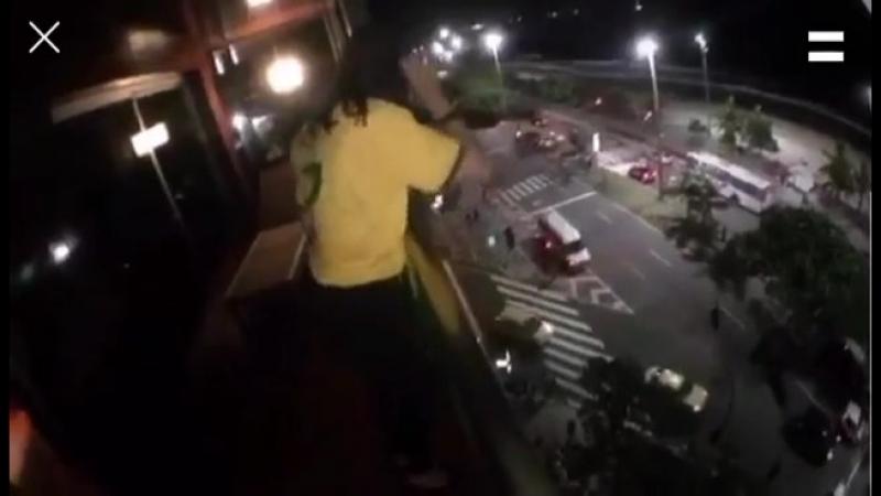 Lana Parrilla in Brazil