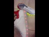 ✅ Яскраві кросівки з LED підсвіткою, 7 кольорів, 3 швидкості + usb зарядка