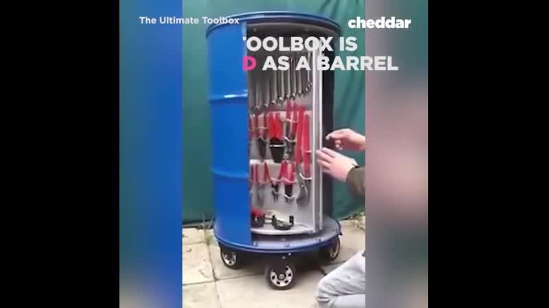 Meet the ultimate toolbox.