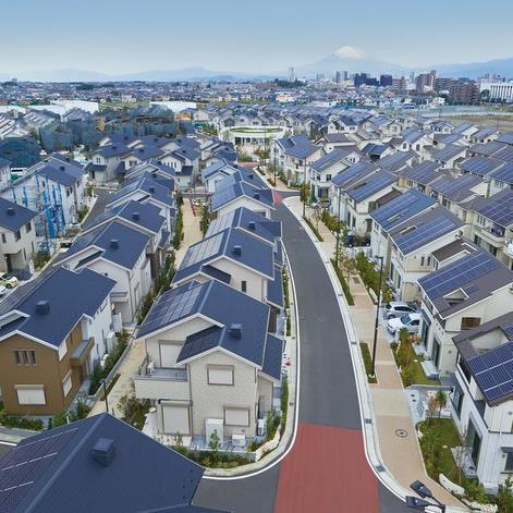 В Японии построили самый экологичный город в мире. Все дома в нем используют сол...