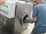 drum type coconut bean roasting machinecacao bean roaster machine