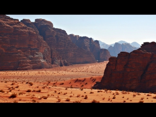 Пустыня Вади-Рам. Лунная долина. Иордания.
