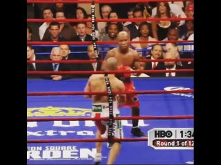Zab Judah's signature uppercut Landing on Cotto ! .mp4