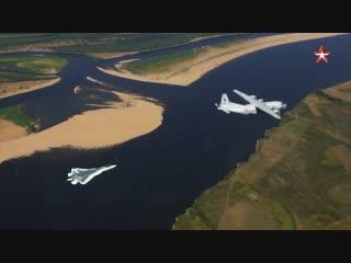 Проход Су-57 на сверхмалой высоте_ эксклюзивные кадры с воздуха