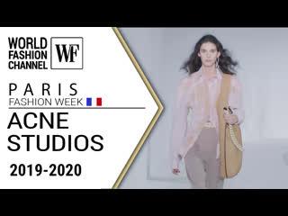 Acne studios fall-winter 19/20   paris fashion week