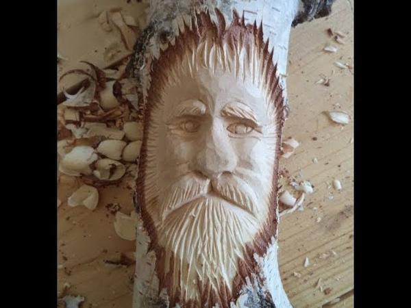Лик Старца Саратов Школа резьбы по дереву
