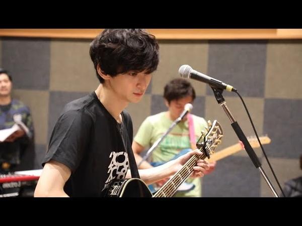 古川雄大アーティストデビュー10周年記念ライブ・リハーサルより 「end roll」演奏前