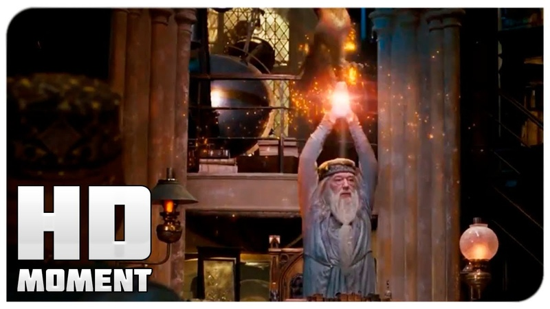 Дамблдора хотят заключить в Азкабан Гарри Поттер и Орден Феникса 2007 Момент из фильма