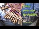 Tutorial bolillos: Como hacer cinta para atar bolillos (SEPARADOR DE BOLILLOS)