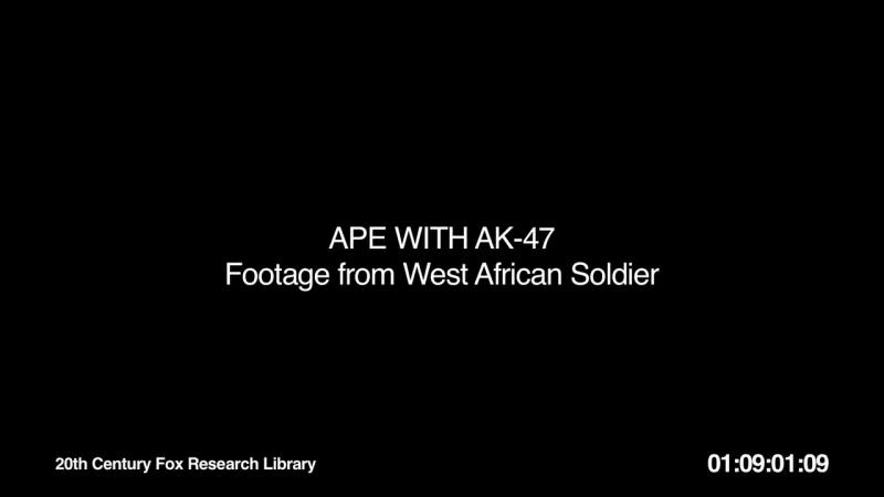Обезьяна с АК 47 и Сомалийские пираты