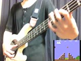 I play on bass Super_Mario BGM #Anime#MAD#playingmusic#Mario#BGM#Nintedo#Super_Mario