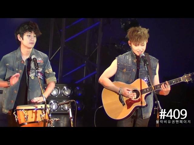 FANCAM | 120505 | U-Bomb's 무지개 Duet Cover | Tokyo Nanrina Concert