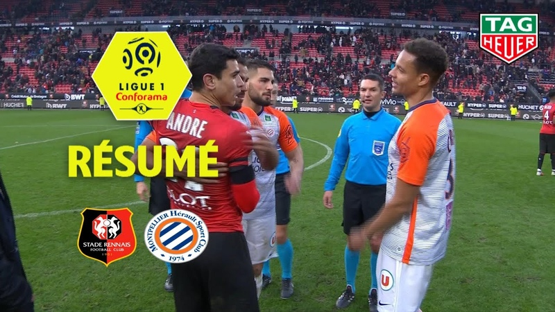 Лига 1. 21 тур. Ренн - Монпелье (Обзор матча)