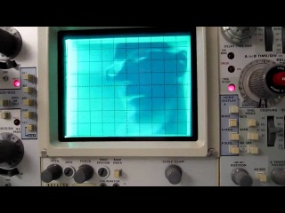 Осциллограф - видео монитор