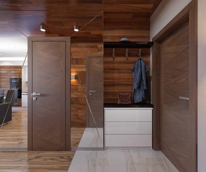 Проект квартиры-студии 30 кв.