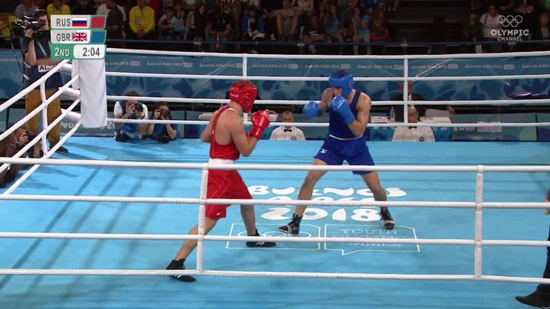 YOG Finals 81kg Kolesnikov (RUS) vs Itauma (ENG)