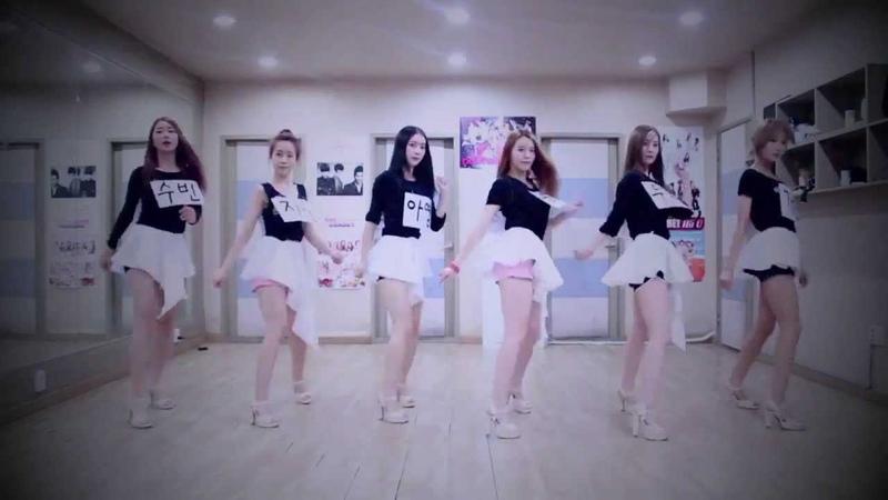 Dal★shabet - Be Ambitious (Dance Practice)