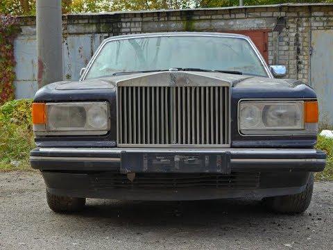 В Украине нашли Rolls-Royce, который 15 лет простоял в гараже