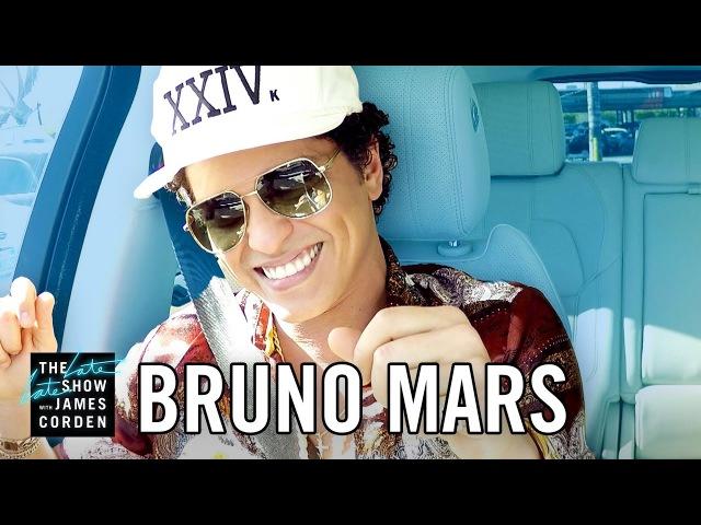Bruno Mars Carpool Karaoke