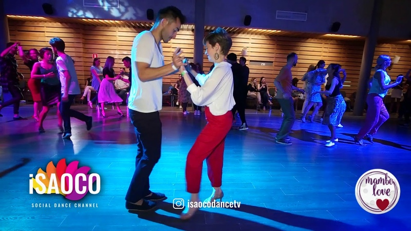Jakov Krželj and Marina Vanyushina Salsa Dancing in Mambolove Sunday 10 06 2018