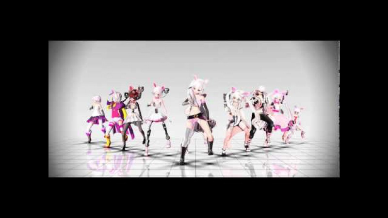 [MMD Five nights at Freddy's 2] TOO MANY MANGLE MODEL'S